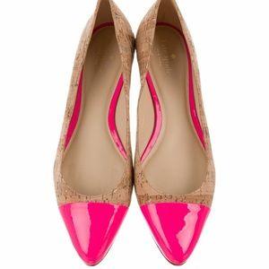 Kate Spade New York Elina Cork Ballet Flat